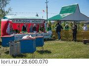 Купить «Сабантуй. Город Мамадыш, Татарстан», фото № 28600070, снято 16 июня 2018 г. (c) Владимир Федечкин / Фотобанк Лори
