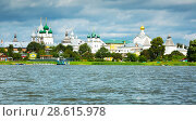 Купить «view on rostov kremlin from lake», фото № 28615978, снято 27 августа 2016 г. (c) Яков Филимонов / Фотобанк Лори