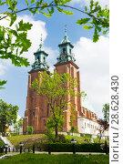 Купить «Gniezno Cathedral, Poland», фото № 28628430, снято 11 мая 2018 г. (c) Яков Филимонов / Фотобанк Лори