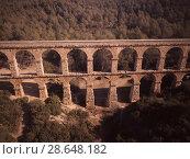 Купить «Pont del Diable, Tarragona», фото № 28648182, снято 31 января 2018 г. (c) Яков Филимонов / Фотобанк Лори