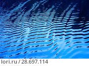 Купить «Вода. Фон», фото № 28697114, снято 3 июня 2018 г. (c) Татьяна Белова / Фотобанк Лори