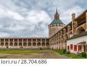 Купить «Kirillo-Belozersky Monastery, Russia», фото № 28704686, снято 14 августа 2017 г. (c) Boris Breytman / Фотобанк Лори