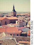 view of town in La Mancha (2013 год). Стоковое фото, фотограф Яков Филимонов / Фотобанк Лори
