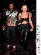 Perrie Edwards parties at Cirque nightclub wearing just a black PVC... (2017 год). Редакционное фото, фотограф WENN.com / age Fotostock / Фотобанк Лори