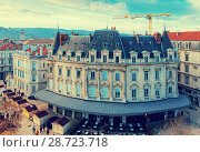 Купить «View on roof of houses in Valence in France», фото № 28723718, снято 7 декабря 2017 г. (c) Яков Филимонов / Фотобанк Лори