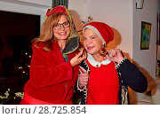 Maren Gilzer's christmas garden party (Weihnachtsgartenparty). (2016 год). Редакционное фото, фотограф AEDT / WENN.com / age Fotostock / Фотобанк Лори