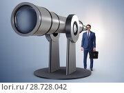 Купить «Businessman in financial planning business concept», фото № 28728042, снято 19 марта 2019 г. (c) Elnur / Фотобанк Лори