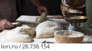 Купить «process of making bread», фото № 28738154, снято 22 октября 2016 г. (c) Татьяна Яцевич / Фотобанк Лори
