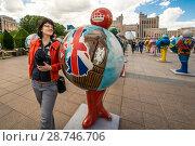 Купить «Казахстан. Астана. Красивый городской пейзаж», фото № 28746706, снято 16 октября 2018 г. (c) Сергеев Валерий / Фотобанк Лори