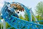 Купить «A popular attraction is the Russian roller coaster.», фото № 28752058, снято 15 июля 2018 г. (c) Александр Клопков / Фотобанк Лори