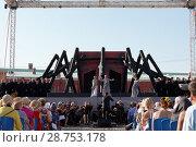Купить «Opera Macbeth of G. Verdi outdoors», фото № 28753178, снято 15 июля 2018 г. (c) Stockphoto / Фотобанк Лори