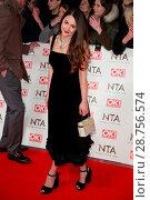 Купить «The National TV Awards (NTA's) held at the O2 - Arrivals Featuring: Lacey Turner Where: London, United Kingdom When: 25 Jan 2017 Credit: Lia Toby/WENN.com», фото № 28756574, снято 25 января 2017 г. (c) age Fotostock / Фотобанк Лори
