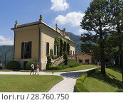 Купить «The Villa del Balbianello is a villa in the comune of Lenno, province of Como, overlooking Lake Como. It is located on a small peninsula on the western...», фото № 28760750, снято 19 июня 2018 г. (c) age Fotostock / Фотобанк Лори