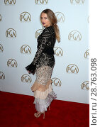Купить «28th Annual Producers Guild Awards at The Beverly Hilton Hotel - Arrivals Featuring: Teresa Palmer Where: Beverly Hills, California, United States When: 28 Jan 2017 Credit: FayesVision/WENN.com», фото № 28763098, снято 28 января 2017 г. (c) age Fotostock / Фотобанк Лори