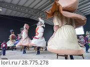Купить «Typical dances of Giants and Big Heads of Tolosa, Guipúzcoa, Spain», фото № 28775278, снято 16 августа 2018 г. (c) age Fotostock / Фотобанк Лори