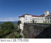 Купить «The Masino Castle, Piedmont, Italy.», фото № 28779050, снято 9 мая 2018 г. (c) age Fotostock / Фотобанк Лори