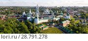 Купить «Panorama of Trinity Lavra of St. Sergius, Sergiev Posad», фото № 28791278, снято 9 июня 2018 г. (c) Яков Филимонов / Фотобанк Лори