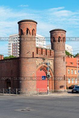 Закхаймские ворота. Калининград