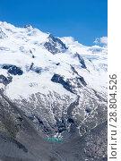 Small alpine lake near Zermatt, canton Valais, Switzerland (2018 год). Стоковое фото, фотограф Григорий Стоякин / Фотобанк Лори