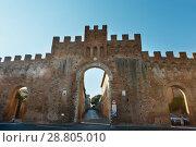 Купить «Siena entrance, Tuscany, Italy», фото № 28805010, снято 23 июня 2017 г. (c) Юрий Брыкайло / Фотобанк Лори