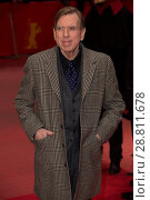 Купить «Cast members and director attend a premiere for 'The Party' at the 67th International Berlin Film Festival (Berlinale) Featuring: Timothy Spall Where:...», фото № 28811678, снято 13 февраля 2017 г. (c) age Fotostock / Фотобанк Лори