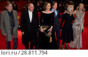 Купить «Cast members and director attend a premiere for 'The Party' at the 67th International Berlin Film Festival (Berlinale) Featuring: Timothy Spall, Bruno...», фото № 28811794, снято 13 февраля 2017 г. (c) age Fotostock / Фотобанк Лори