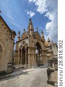 Купить «Mausoleo de Joan Oliver de Can Maneu, construido por el arquitecto Gaspar Bennàzar, Cementerio Municipal de Palma, Mallorca, balearic islands, Spain.», фото № 28818902, снято 22 мая 2018 г. (c) age Fotostock / Фотобанк Лори