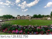 Купить «Luxembourg park in Paris», фото № 28832750, снято 19 июля 2013 г. (c) Сурикова Ирина / Фотобанк Лори