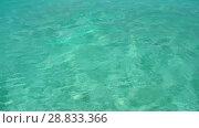 Купить «sea water in tropical lagoon», видеоролик № 28833366, снято 1 июля 2018 г. (c) Syda Productions / Фотобанк Лори