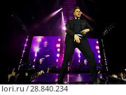 Купить «Pop star Olly Murs plays live to an audience in the SSE Hydro in Glasgow Where: Glasgow, Scotland, United Kingdom When: 03 Mar 2017 Credit: Peter Kaminski/WENN.com», фото № 28840234, снято 3 марта 2017 г. (c) age Fotostock / Фотобанк Лори