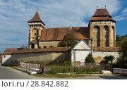 Купить «Fortified church in Valea Viilor, Romania», фото № 28842882, снято 17 сентября 2017 г. (c) Яков Филимонов / Фотобанк Лори