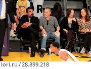 Купить «Celebrities watch the Los Angeles Lakers Featuring: George Lopez, Eddie Van Halen Where: Los Angeles, California, United States When: 02 Apr 2017 Credit: WENN.com», фото № 28899218, снято 2 апреля 2017 г. (c) age Fotostock / Фотобанк Лори