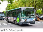 Купить «Irisbus Citelis 12M Line», фото № 28912938, снято 8 августа 2014 г. (c) Art Konovalov / Фотобанк Лори