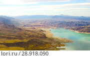 Купить «aerial view of grand canyon and lake mead», видеоролик № 28918090, снято 21 июля 2018 г. (c) Syda Productions / Фотобанк Лори