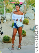 Купить «Christina Milian at the 'Pretty Little Thing x Paper Party' in Palm Springs during Coachella 2017 Featuring: Christina Milian Where: Palm Springs, California...», фото № 28922978, снято 14 апреля 2017 г. (c) age Fotostock / Фотобанк Лори
