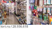 Купить «In fishing shop in Barcelona», фото № 28936618, снято 16 января 2018 г. (c) Яков Филимонов / Фотобанк Лори