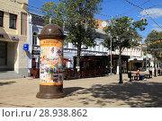 Купить «Рязань. Вид улицы Почтовой.», фото № 28938862, снято 16 июня 2018 г. (c) УНА / Фотобанк Лори