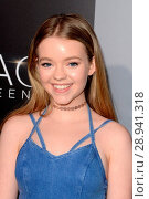 Jade Pettyjohn at arrivals for THE SPACE BETWEEN US Premiere, Arclight Hollywood, Los Angeles, CA January 17, 2017. Photo By: Priscilla Grant/Everett Collection. Редакционное фото, фотограф Priscilla Grant/Everett Collection / age Fotostock / Фотобанк Лори