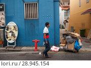 Купить «Singapore, Republic of Singapore, street scene in Chinatown», фото № 28945154, снято 22 сентября 2016 г. (c) Caro Photoagency / Фотобанк Лори