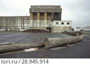 Купить «France, The bunker facility for German submarines in the port of La Pallice», фото № 28945914, снято 12 июля 2004 г. (c) Caro Photoagency / Фотобанк Лори