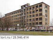 Купить «Berlin, Germany, ruin at Stralauer Platz in Berlin-Mitte», фото № 28946414, снято 13 марта 2016 г. (c) Caro Photoagency / Фотобанк Лори
