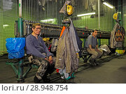 Купить «Germany, North Rhine-Westphalia - Mine Hamm-Ost», фото № 28948754, снято 24 ноября 2010 г. (c) Caro Photoagency / Фотобанк Лори