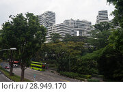 Купить «Singapore, Republic of Singapore, The Interlace», фото № 28949170, снято 14 декабря 2017 г. (c) Caro Photoagency / Фотобанк Лори