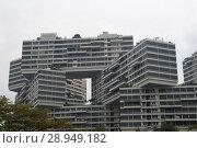 Купить «Singapore, Republic of Singapore, The Interlace», фото № 28949182, снято 14 декабря 2017 г. (c) Caro Photoagency / Фотобанк Лори