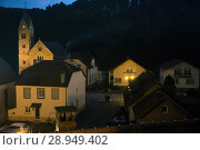 France, the village of Graufthal, northern Vosges in Alsace (2014 год). Редакционное фото, агентство Caro Photoagency / Фотобанк Лори
