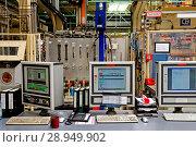 Germany, North Rhine-Westphalia - Thyssen Krupp Tailored Blanks GmbH in Duisburg (2012 год). Редакционное фото, агентство Caro Photoagency / Фотобанк Лори