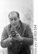 Купить «Berlin, GDR, Manfred Krug, actor», фото № 28953554, снято 17 марта 1963 г. (c) Caro Photoagency / Фотобанк Лори