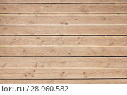 Купить «Brown wood plank wall texture background», фото № 28960582, снято 4 августа 2018 г. (c) Александр Лычагин / Фотобанк Лори