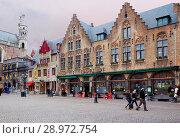 Купить «Брюгге. Бельгия. Городской пейзаж.», фото № 28972754, снято 23 февраля 2013 г. (c) Галина Савина / Фотобанк Лори