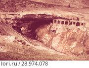 Купить «Inca Bridge (Puente del Inca), Mendoza, Argentina», фото № 28974078, снято 10 февраля 2017 г. (c) Яков Филимонов / Фотобанк Лори